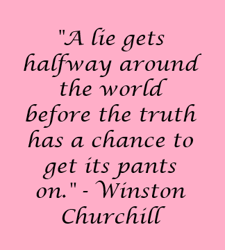 Winston Churchill quote - happy