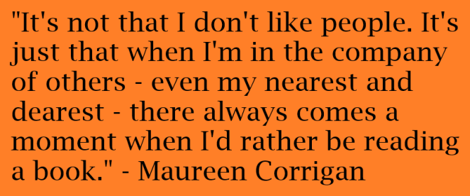 Maureen Corrigan quote