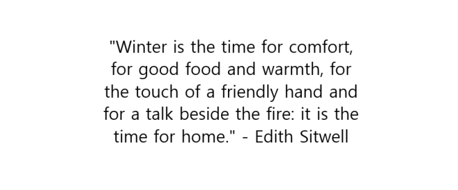 Winter quote 2