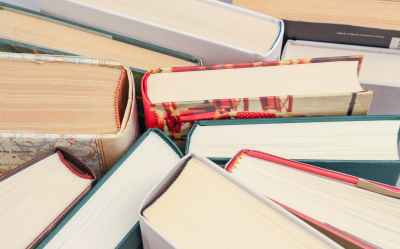 books indoors pages paper